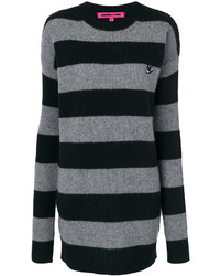 MCQ Alexander Ueen Striped Sweater Dress