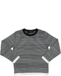 Fabrizio Del Carlo Striped Cotton Sweater