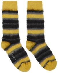 Marni Mohair Stripe Socks