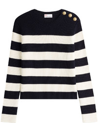 RED Valentino Red Valentino Wool Pullover With Embossed Buttons