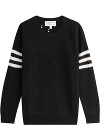 Current/Elliott Wool Pullover With Stripes
