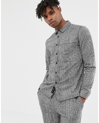NATIVE YOUTH Co Ord Checked Shirt