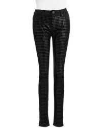 Tinsel Houndstooth Skinny Pants