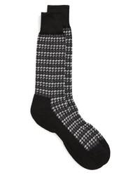 Nordstrom Men's Shop Houndstooth Stripe Socks