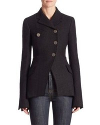 Proenza Schouler Asymmetric Cotton Jacket