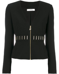 Versace Collection Zipped Fitted Jacket