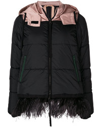 No.21 No21 Feather Trim Padded Jacket