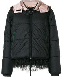 No.21 No21 Frayed Hem Padded Jacket