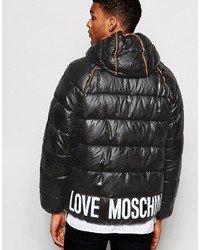 6bbabecdc91e6 Love Moschino Bomber Jacket Out of stock · Love Moschino Padded Jacket  Piping Detail