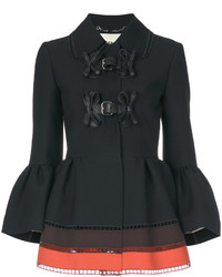 Fendi Panelled Peplum Jacket