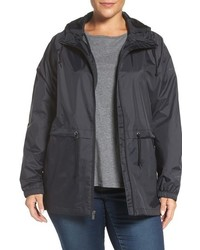 Plus size arcadia hooded waterproof casual jacket medium 793619