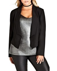 Plus size chic tuxe jacket medium 5255949