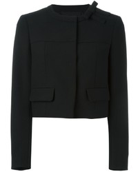 RED Valentino Bow Detail Cropped Jacket