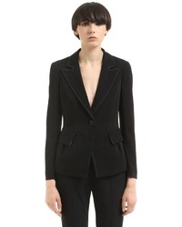 Emporio Armani Stretch Viscose Jacket