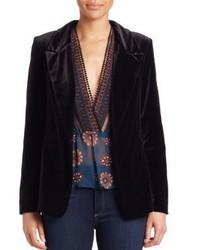 Nicholas Velvet Tuxedo Jacket