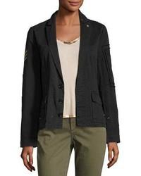 Zadig & Voltaire Virginia Grunge Cotton Jacket