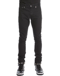 Givenchy 3 Star Faded Jeans Black