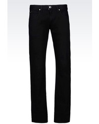 Armani Collezioni Slim Fit Black Wash Jeans
