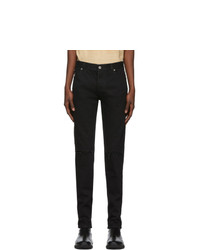 Balmain Black 6 Pocket Jeans