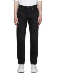 Acne Studios Black Classic Fit Jeans