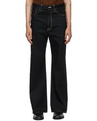 SASQUATCHfabrix. Black Contrast Five Pocket Jeans