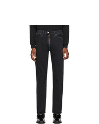 Vetements Black Crotch Zip Jeans