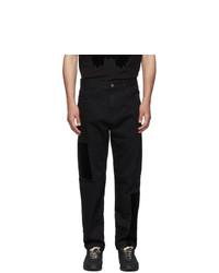 McQ Alexander McQueen Black Mismatched Jeans