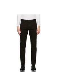 Ermenegildo Zegna Black Narrow Fit Jeans
