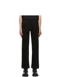 Neil Barrett Black Ripped Jeans