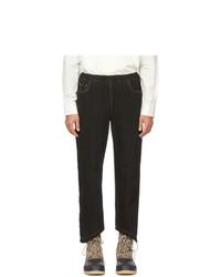 St-Henri Black Rock Elastic Jeans