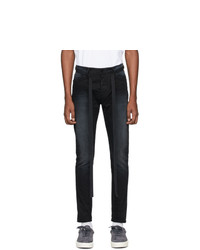 Fear Of God Black Slim Canvas Jeans