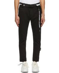 Off-White Black Slim Fit Jeans