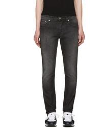 AMI Alexandre Mattiussi Black Slim Jeans
