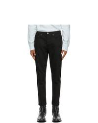 Acne Studios Black Slim Tapered Jeans