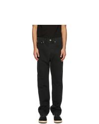 Lanvin Black Straight Leg Jeans