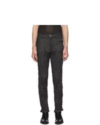 Issey Miyake Men Black Torus Jeans