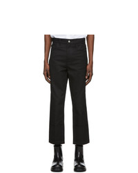 Raf Simons Black Turn Up Jeans