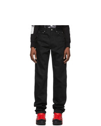 TAKAHIROMIYASHITA TheSoloist. Black X Pocket Jeans