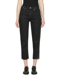 3.1 Phillip Lim Black Zipper Jeans