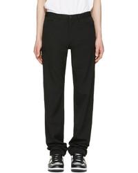 Comme des Garcons Comme Des Garons Homme Plus Black Wool Gabardine Jeans
