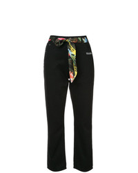Off-White Cropped Foulard Jeans