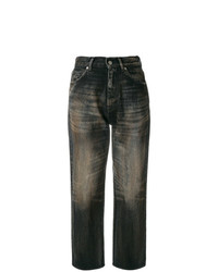 Golden Goose Deluxe Brand Cropped High Waist Jeans