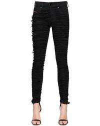 Diesel Dhary Super Slim Destroy Denim Jeans