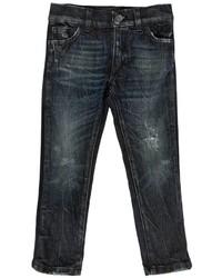 Dolce & Gabbana Slim Fit Stretch Cotton Denim Jeans