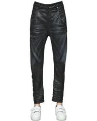 Diesel Fayza Coated Cotton Denim Jeans