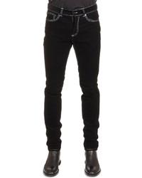 Givenchy Five Pocket Cord Denim Jeans Black