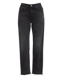 Grlfrnd Helena Rigid High Waist Straight Jeans