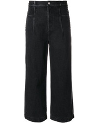3.1 Phillip Lim Lace Up Cropped Jeans