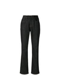 Frame Denim Le Raw Straight Jeans