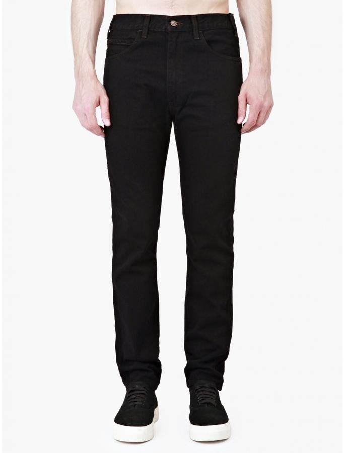 3b78240ae1c ... Levi s Levi Black 1966 606 Super Slim Jeans ...